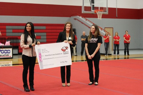 $5000 Donated to Breast Cancer