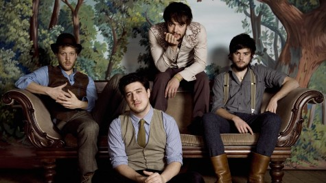 Mumford and Sons on Fire