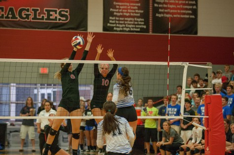 Eagles Set Volleyball Court Aflame, Burn Decatur