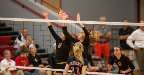 VB Undefeated in District, Last home game against Aubrey (3-0)