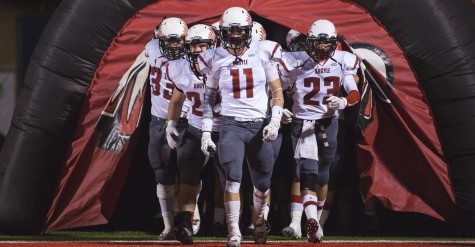 Seniors Honored as Football Continues Undefeated in District Play