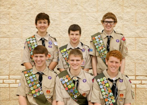 Seven Eagles Receive Their Eagle Scout Award