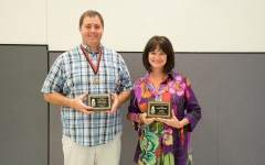 Nytomt and Baker Awarded Golden Teacher of Excellence 2014