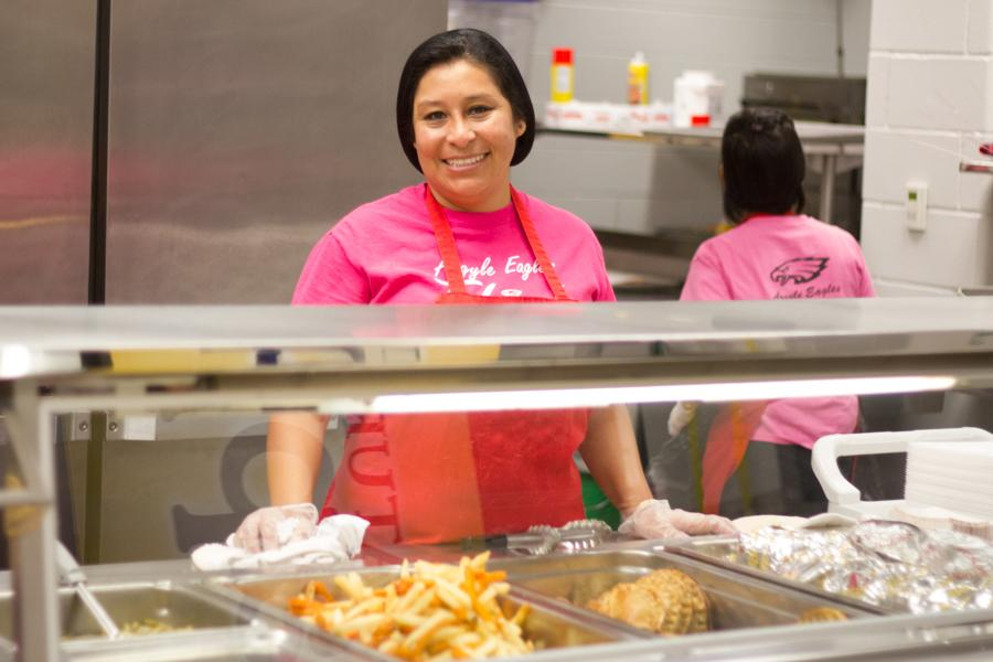 New Lunches Bring Happiness to Students
