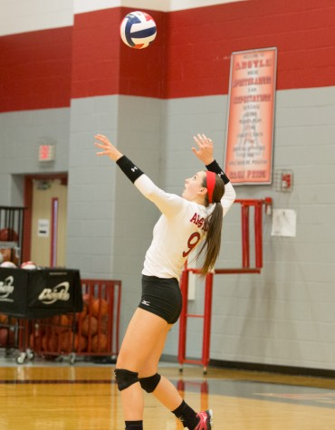 Lady Eagles take on Burleson at Argyle High School in Argyle, Texas on Sept. 9, 2014.  Photo by Christopher Piel