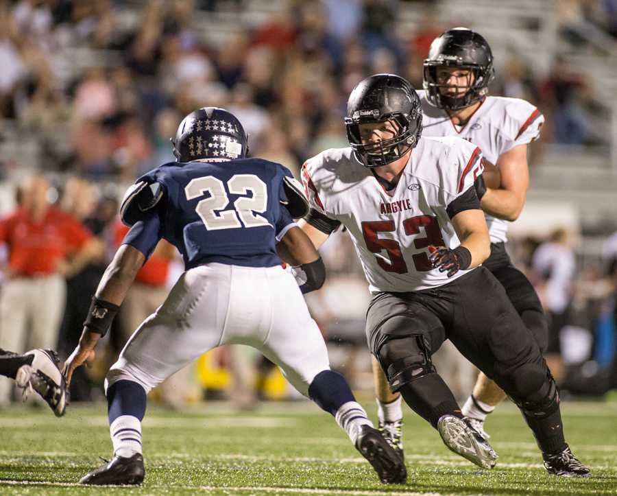 Offensive Line Paving the Way for Eagle's Undefeated Season