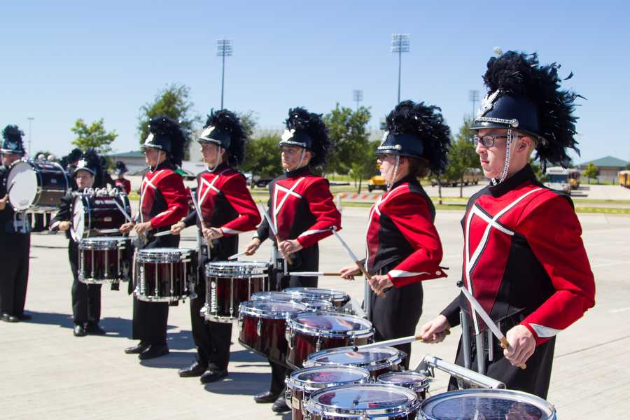 Band Places Third in Golden Triangle Marching Contest
