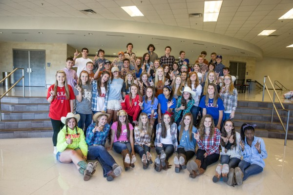 Eagles Celebrate Homecoming Week with Daily Themes