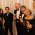 Richard Linklater and the cast of Boyhood win Best Motion Picture Drama. Photo courtesy of The Hollywood Foreign Press Association
