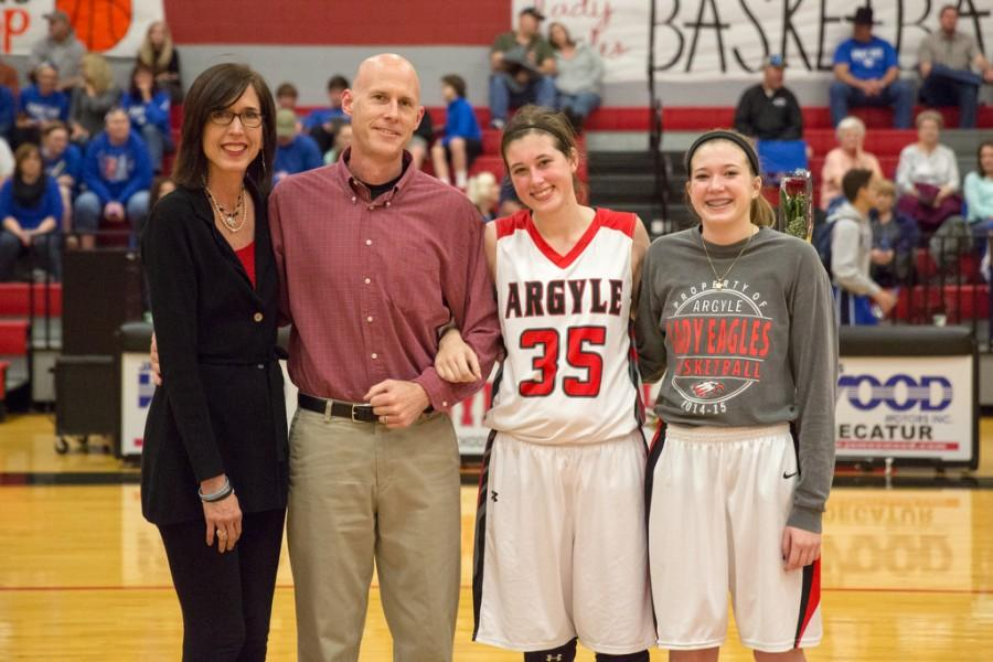 Senior Night Ends in Dominant Wins for Boys and Girls Basketball