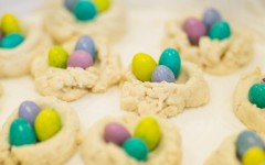 Easter Thumbprint Shortbread Cookies Recipe