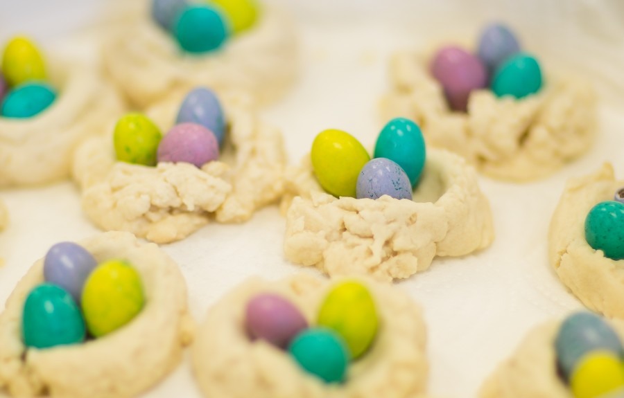 Easter Thumbprint Shortbread Cookies Recipe