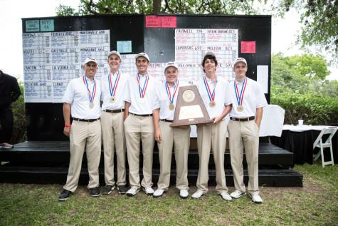 Golf Wins State Title, Makes School History