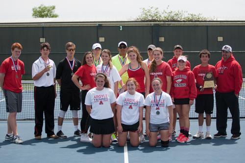 Tennis Advances to Region