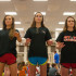 Band students attend a freshman marching camp lead by the new 2015-16 drum majors at Argyle High School on May 28, 2015. (Photo by Annabel Thorpe/ The Talon News)