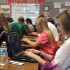 Seniors use their new Chromebooks in Mrs. Short's English class on Sept. 16 at Argyle High School, Texas