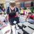 Football players unload Chromebooks for the high school on (9-2-15) (Caleb Miles / The Talon News)