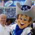 The Dallas Cowboys' mascot enjoys one of their games. (Courtesy Photo/Creative Commons)