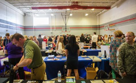High School Participates in College Fair