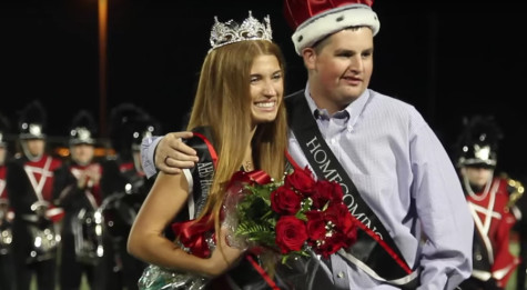 2014 Homecoming King & Queen Announced