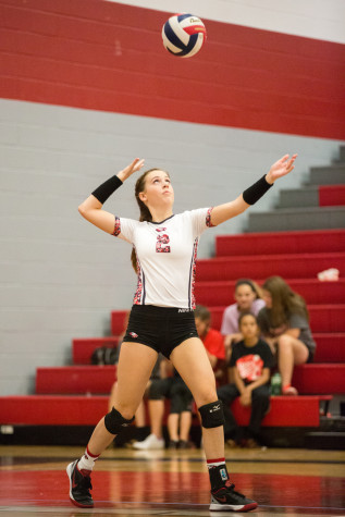 Volleyball 'Kills' Sanger in 3 Sets