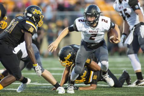 Dane Ledford Takes on Challenge of Leading Eagle Football Team