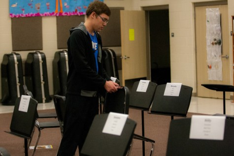 Band Prepares for Region Clinic