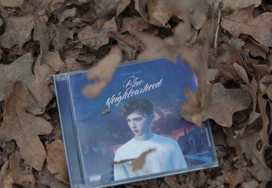 Troye Sivan's debut album, Blue Neighborhood, released on Dec. 4, 2015. (Faith Stapleton / The Talon News)