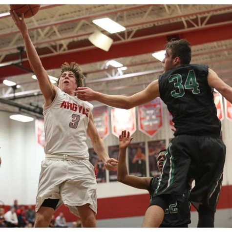 Argyle Boys Basketball fall to Kennedale in pre-district match-up