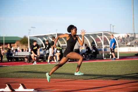 Track Competes Against Byron Nelson to Determine Thier Event