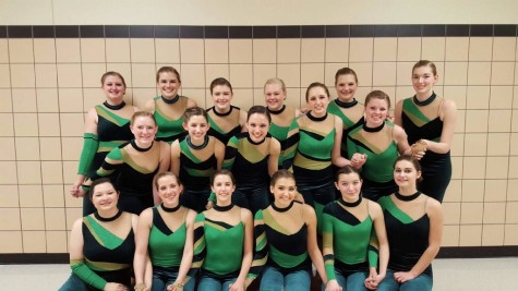 Winter Guard Makes History on the Floor