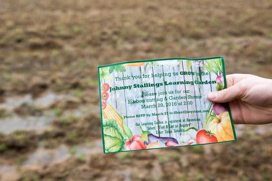 Johnny Stallings Learning Garden Helps Students Grow