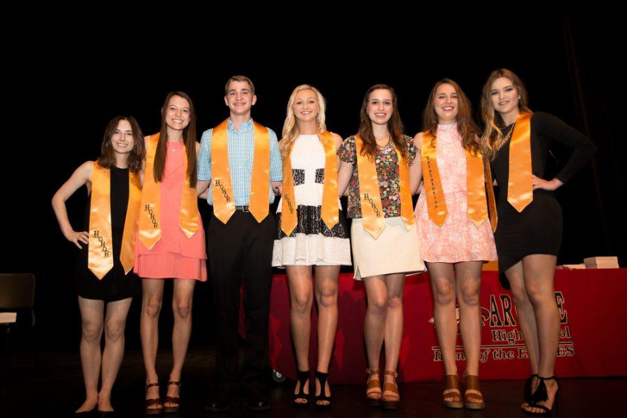 Argyle HS Celebrates Academics at End of Year Awards Ceremony