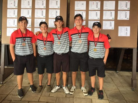 Boys Varsity Golf Finishes 19th of 52 Teams, JV Red Wins Robson Ranch