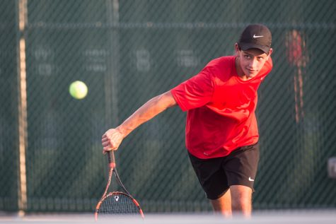 Eagles Tennis Ranked First in District