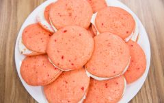 Springtime Strawberry MoonPies