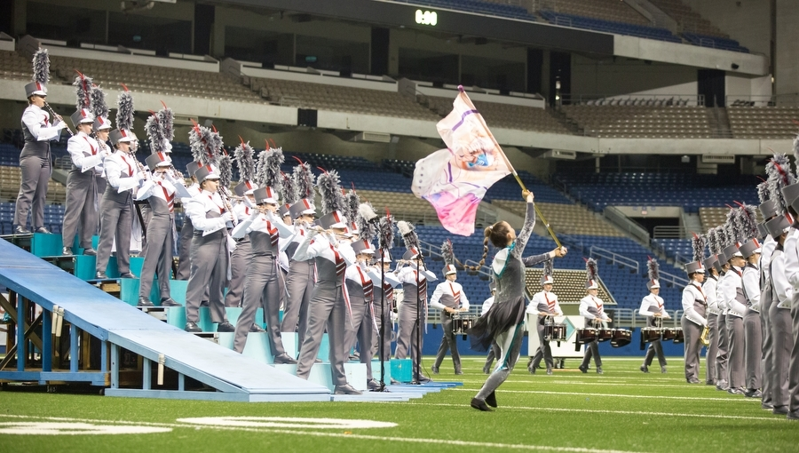 The+marching+band+competes+at+the+UIL+State+Competition+in+the+4A+Division+at+the+Alamodome%2C+San+Antonio+TX+on+Nov.+7%2C+2016.+%28GiGi+Robertson%2F+The+Talon+News%29