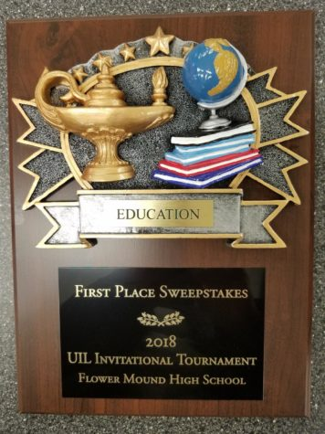 UIL Academics Sweeps First in Flower Mound Invitational