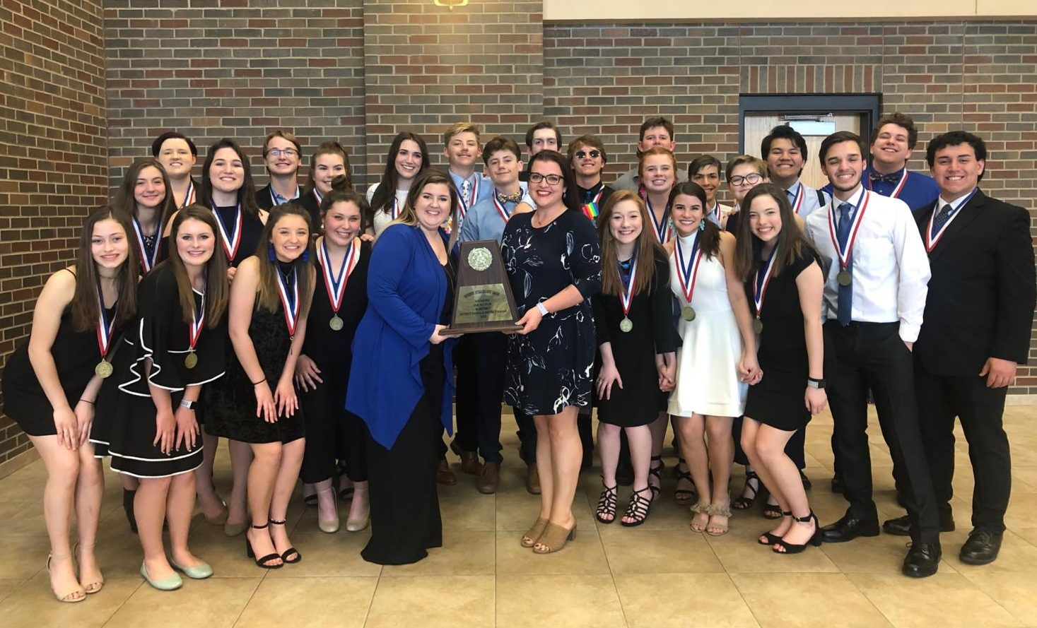 The one act play advances to Area after receiving third at Bi-Districts on March 25, 2019 (Photo Cred: Kelly Zindel).