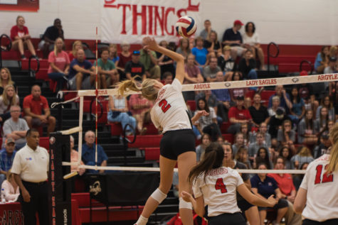 Lady Eagles Sweep Lady Texans to End Slump
