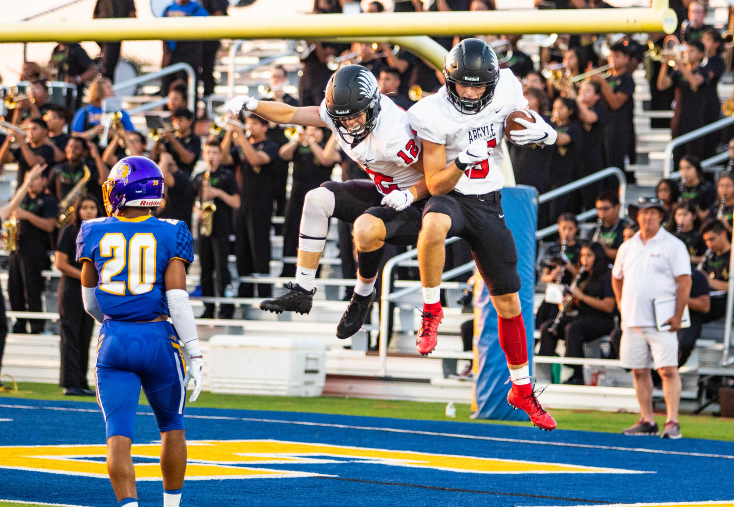 The Eagles defeat the La Vega Pirates with a score of 49-35 on September 6th, 2019. (Photo by Campbell Wilmot/The Talon News)