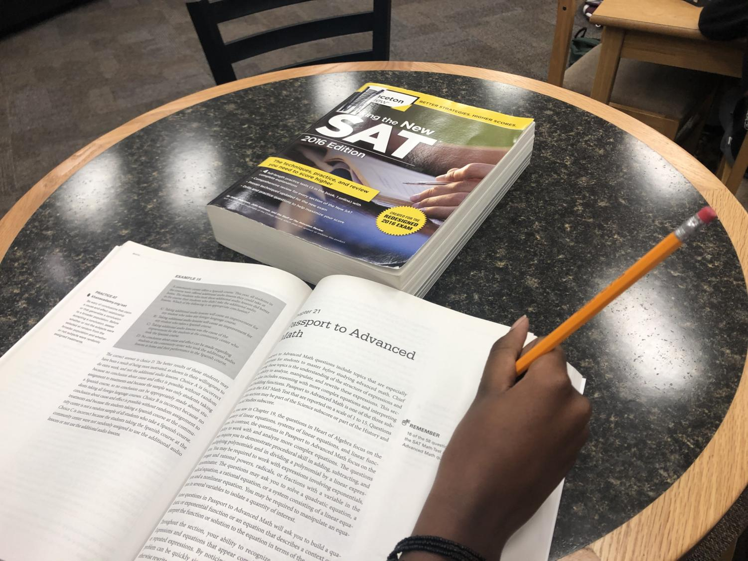 The SAT doesn't accurately portray a student's academic ability and worsens the socioeconomic disparity in high school and college.