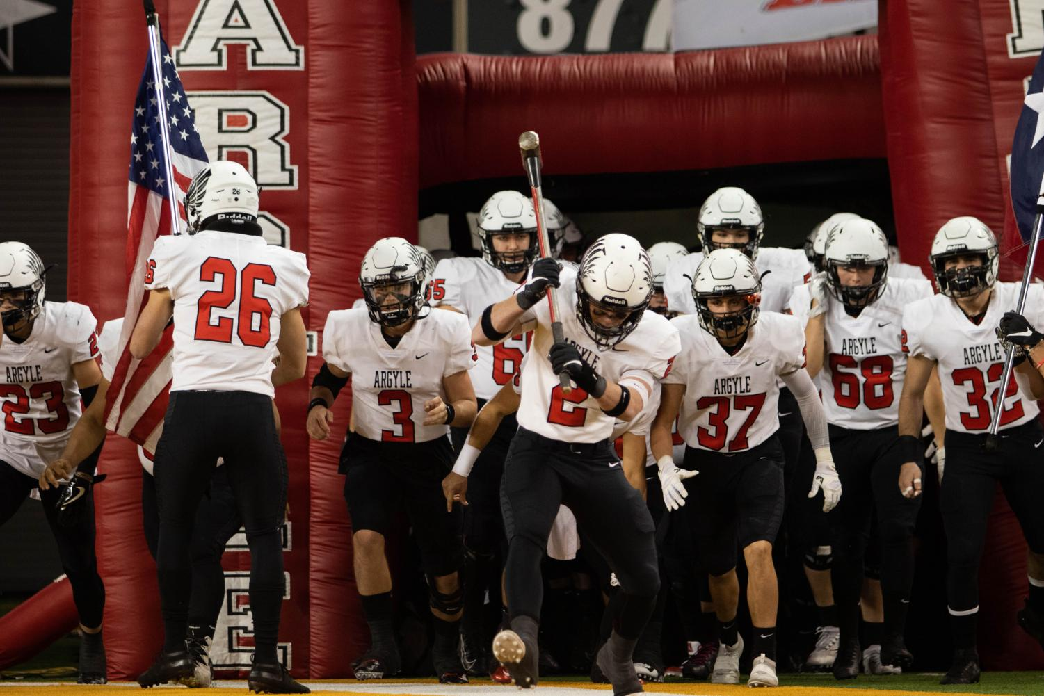 The Argyle Eagles took on the LaVega Pirates in their final game of the season at McLane Stadium in Waco, Texas. (Sloan Dial / The Talon News)