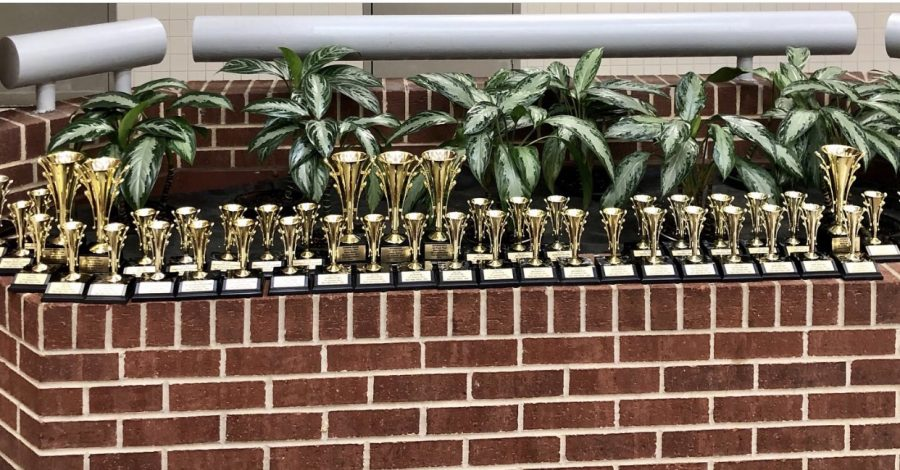 The Argyle UIL team took home the Academic Sweepstakes at the Denton Ryan UIL Meet in Denton, Texas on Feb. 9, 2020. (Photo Courtesy Stacy Short)