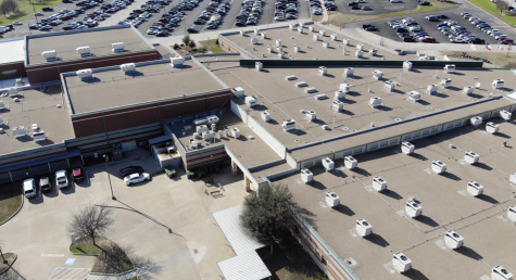 The current high school will swap campuses with the middle school in the fall of 2021. (Nicholas West | The Talon News)