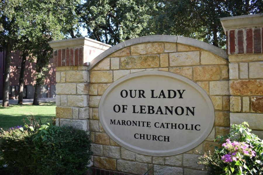 Our Lady of Lebanon Catholic Church in Lewisville leads the Texan relief effort to Lebanon. (Sarah Crowder/The Talon News)