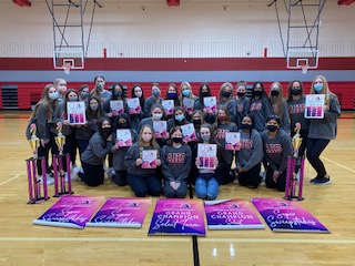 The Majestics earned many awards at their first contest (Photo courtesy AHS Majestics).