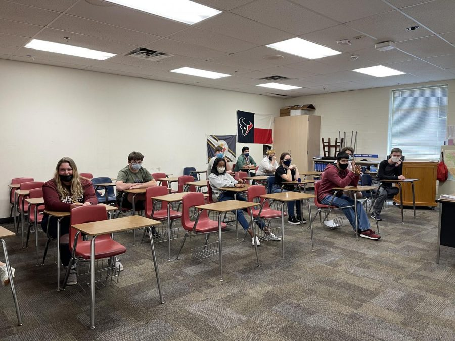 The Academic UIL teams won district on March 24, 2021 at Argyle High School (Photo Courtesy Stacy Short)