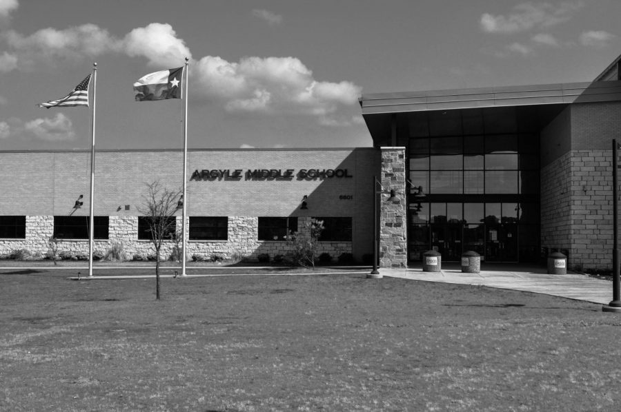 Argyle Middle School is one of the newer schools in the AISD distrect.