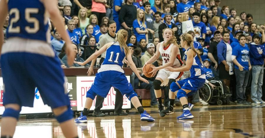 Lady Eagles Basketball Falls to Krum Lady Cats
